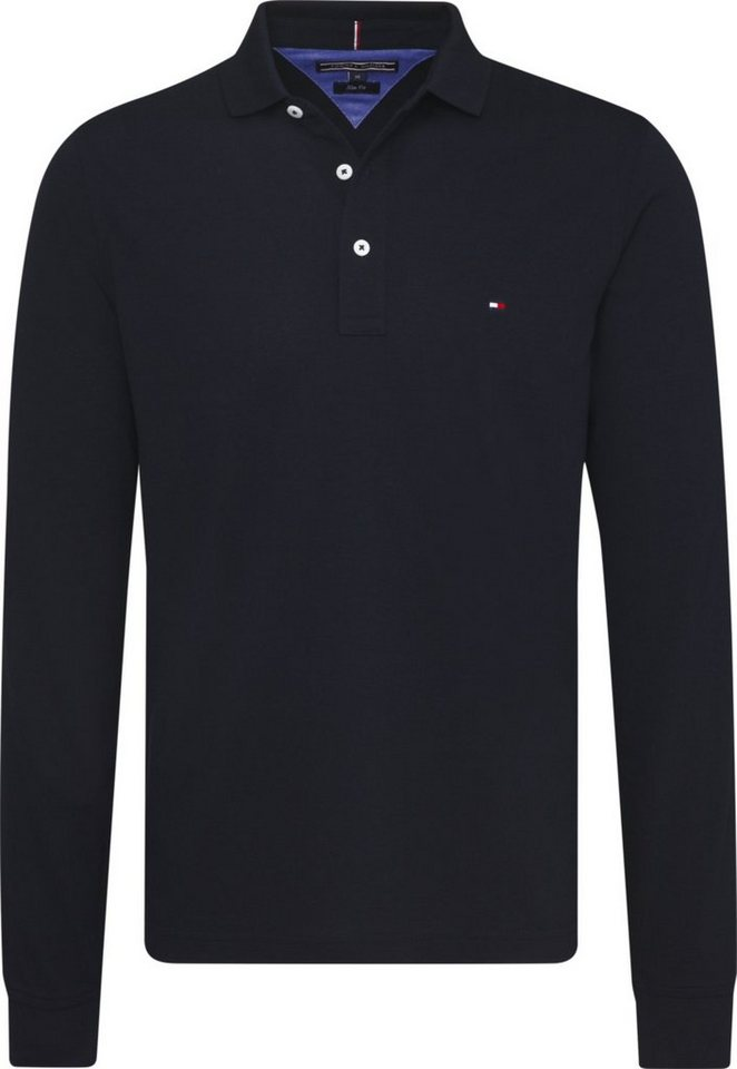 tommy hilfiger poloshirt tommy slim polo l s otto. Black Bedroom Furniture Sets. Home Design Ideas