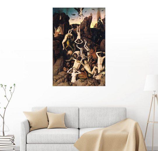 Posterlounge Wandbild - Dieric Bouts »Hölle«