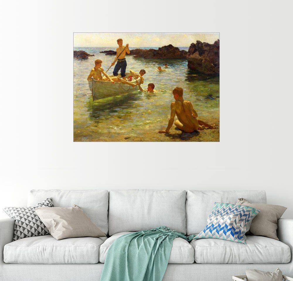 Posterlounge Wandbild - Henry Scott Tuke »Morgendlicher Glanz«