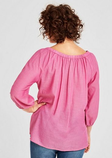 TRIANGLE Zarte Off Shoulder-Bluse