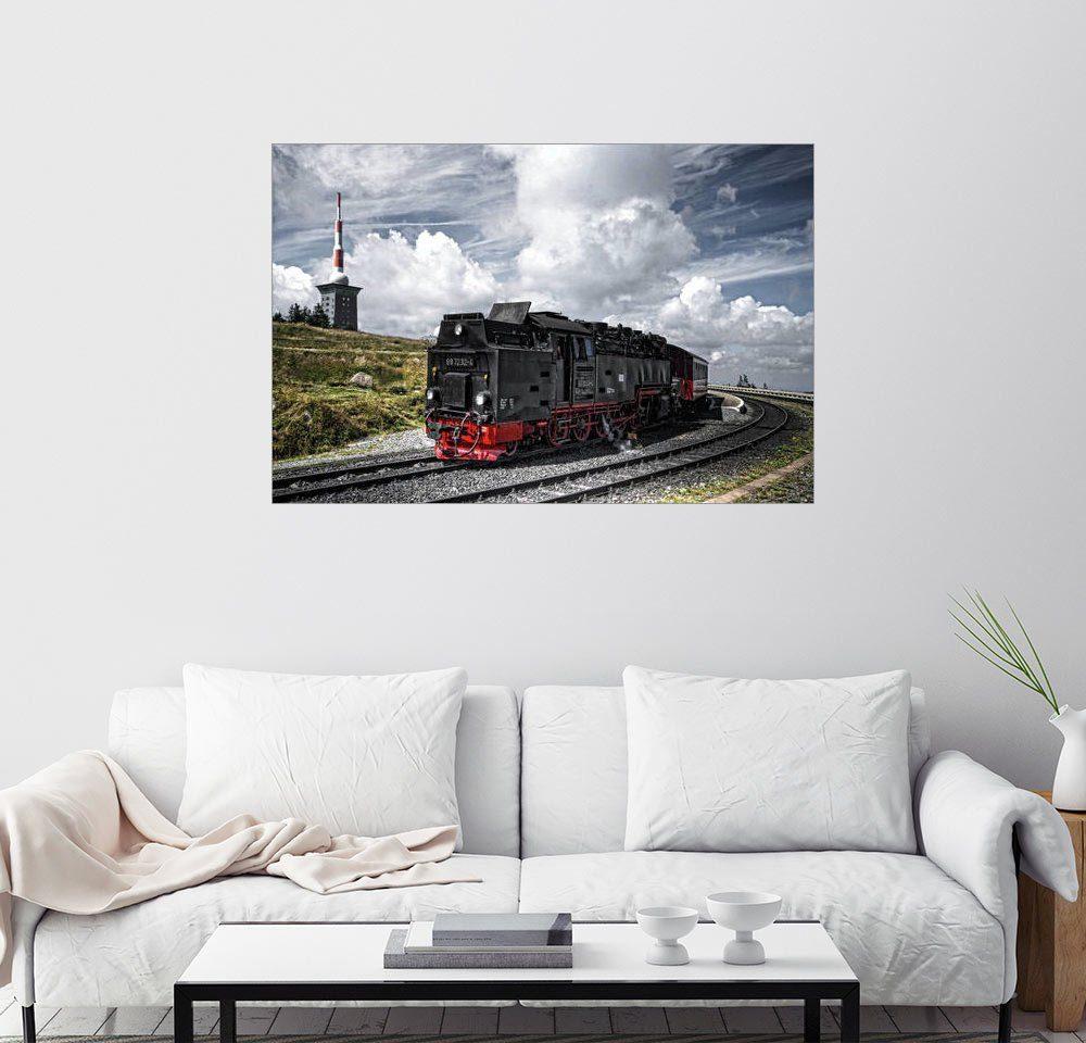 Posterlounge Wandbild - PhotoArt Hartmann »Brockenbahn«