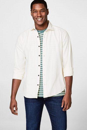 ESPRIT T-Shirt aus strukturiertem Jersey