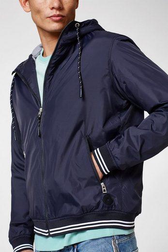 EDC BY ESPRIT Leichte Nylon-Jacke mit Kapuze