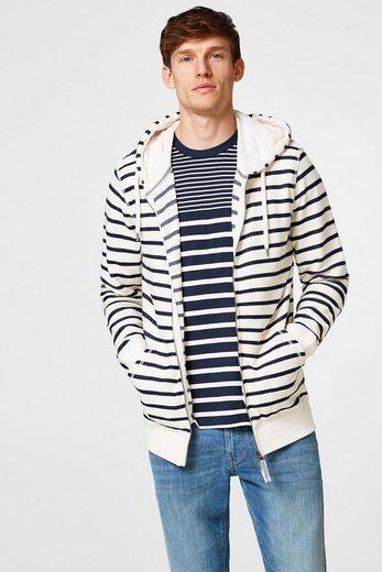 ESPRIT Jersey-Shirt mit Blockstreifen, Baumwolle