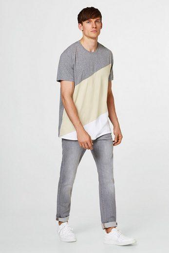 ESPRIT Colorblock-Shirt aus Jersey