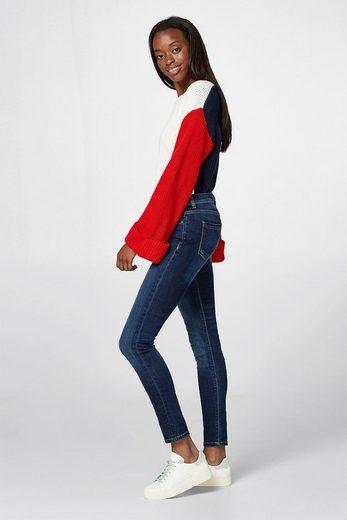 ESPRIT Schmale Stretch-Jeans mit Organic Cotton