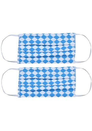 Zwillingsherz Mund-Nasen-Masken, (Packung, 2-tlg)