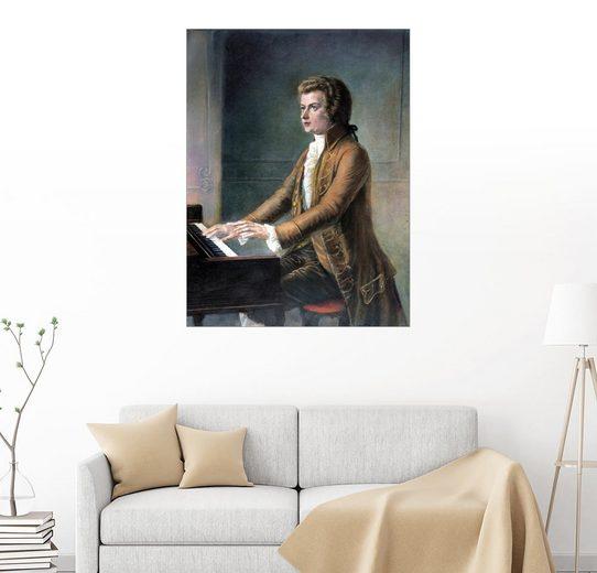 Posterlounge Wandbild »Wolfgang Amadeus Mozart«