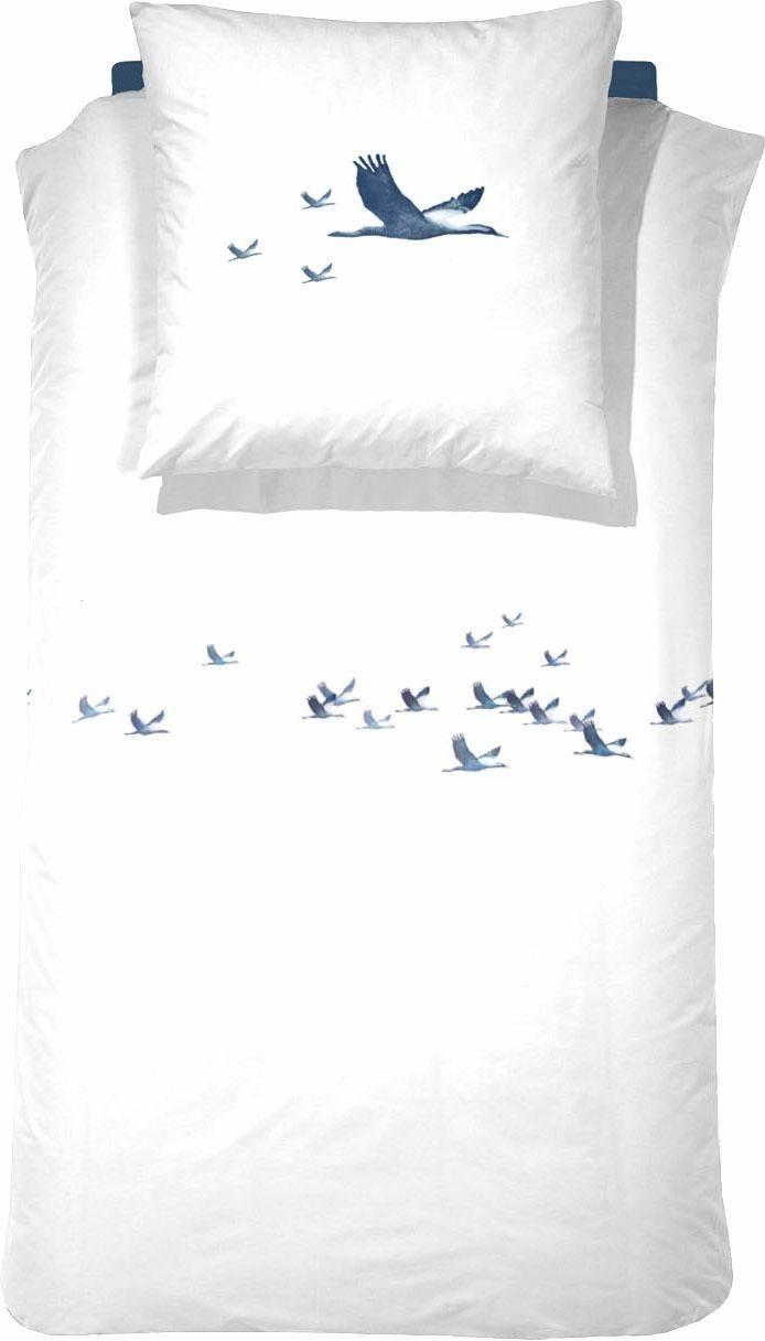 Bettwäsche »Snowgoose«, Cinderella, mit Gänsen