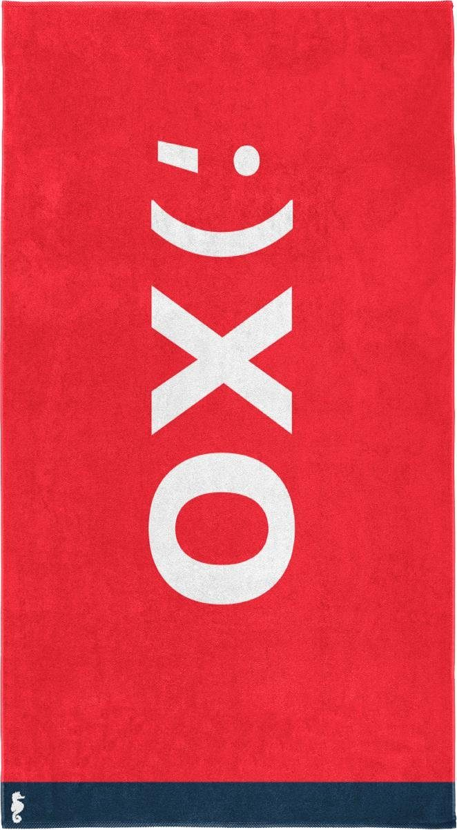 Strandtuch »XO«, Seahorse, mit modernem Druck