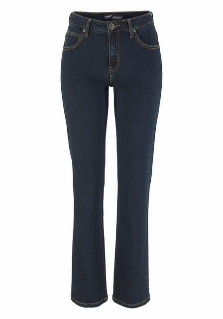 Hosen - Arizona Gerade Jeans »Shaping« High Waist › blau  - Onlineshop OTTO