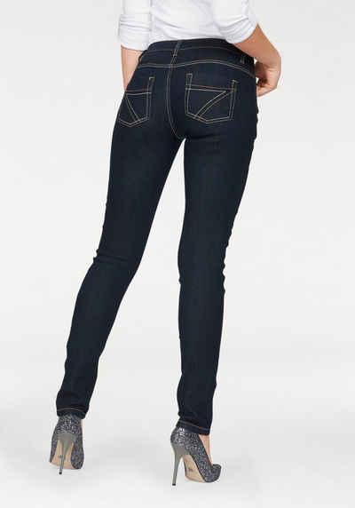 Arizona Slim-fit-Jeans »mit Kontrastnähten« Mid Waist