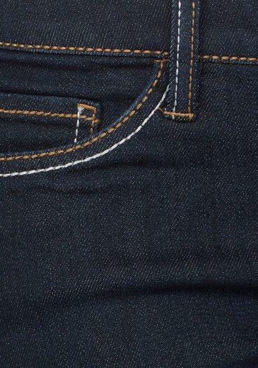 Kontrastnähten« »mit Waist Mid jeans fit Arizona Slim PIwqgIT
