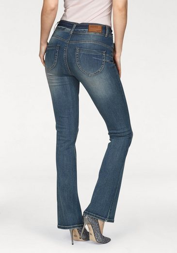 Arizona Bootcut-Jeans »Shaping« High Waist