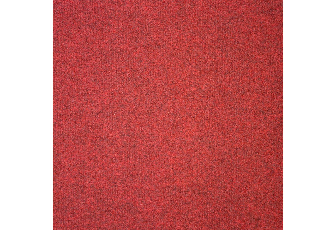 Teppichfliese »Madison rot«, 20 Stück (5 m²), selbstliegend | Heimtextilien > Teppiche > Sonstige-Teppiche | Rot | OTTO