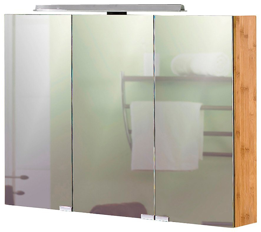 Schildmeyer spiegelschrank bambus breite 90 cm mit led beleuchtung online kaufen otto - Spiegelschrank bambus ...