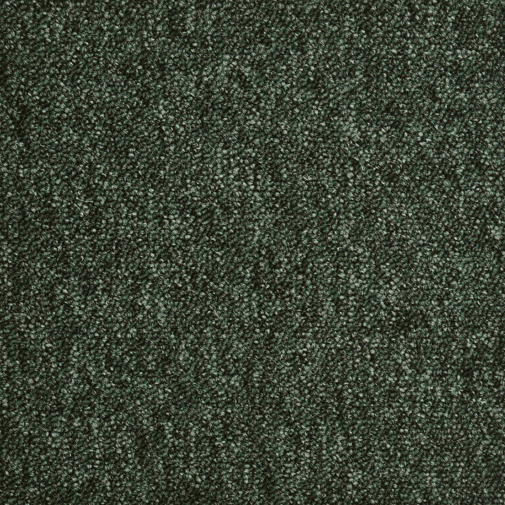 Teppichfliese »Austin grün«, 4 Stück (1 m²), selbstliegend
