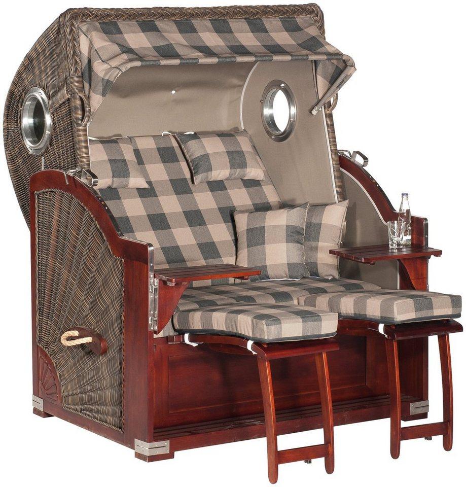 sunny smart strandkorb rustikal 500 plus comfort 1209. Black Bedroom Furniture Sets. Home Design Ideas