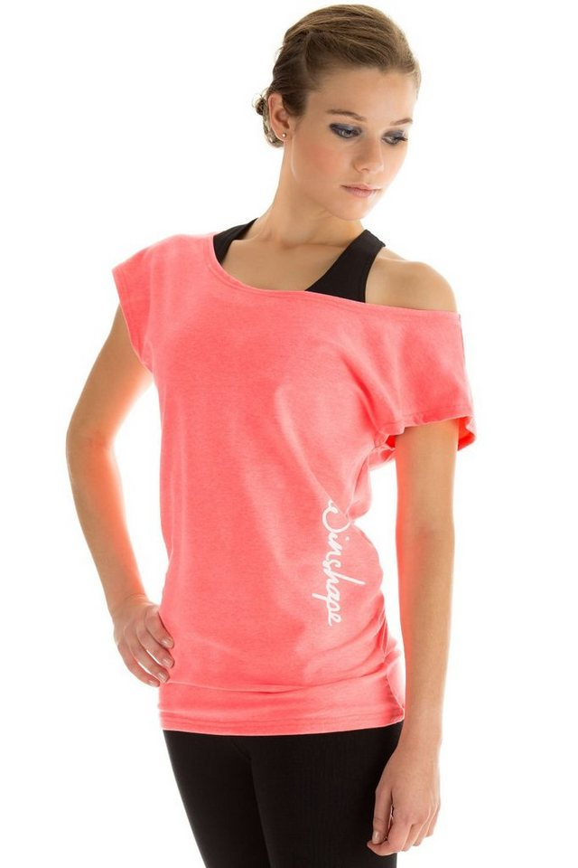 Winshape Oversize-Shirt »WTR12« Dance-Style | Bekleidung > Shirts > Oversize-Shirts | Rot | Winshape