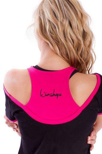 Winshape 2-in-1-Shirt »WTR5« Cut-Out-Look | Bekleidung > Shirts > 2-in-1 Shirts | Winshape