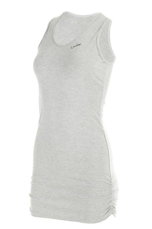 Winshape Longtop »WTR15« mit seitlicher Raffung | Bekleidung > Tops > Longtops | Grau | Elasthan | Winshape