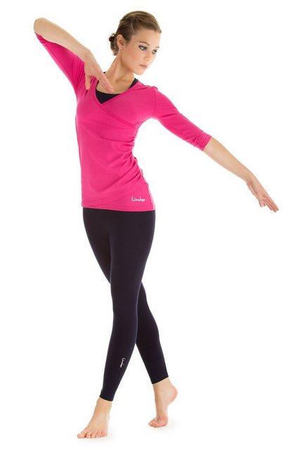 Winshape Wickelshirt »WS3« ¾-Arm | Bekleidung > Shirts > Wickelshirts | Winshape