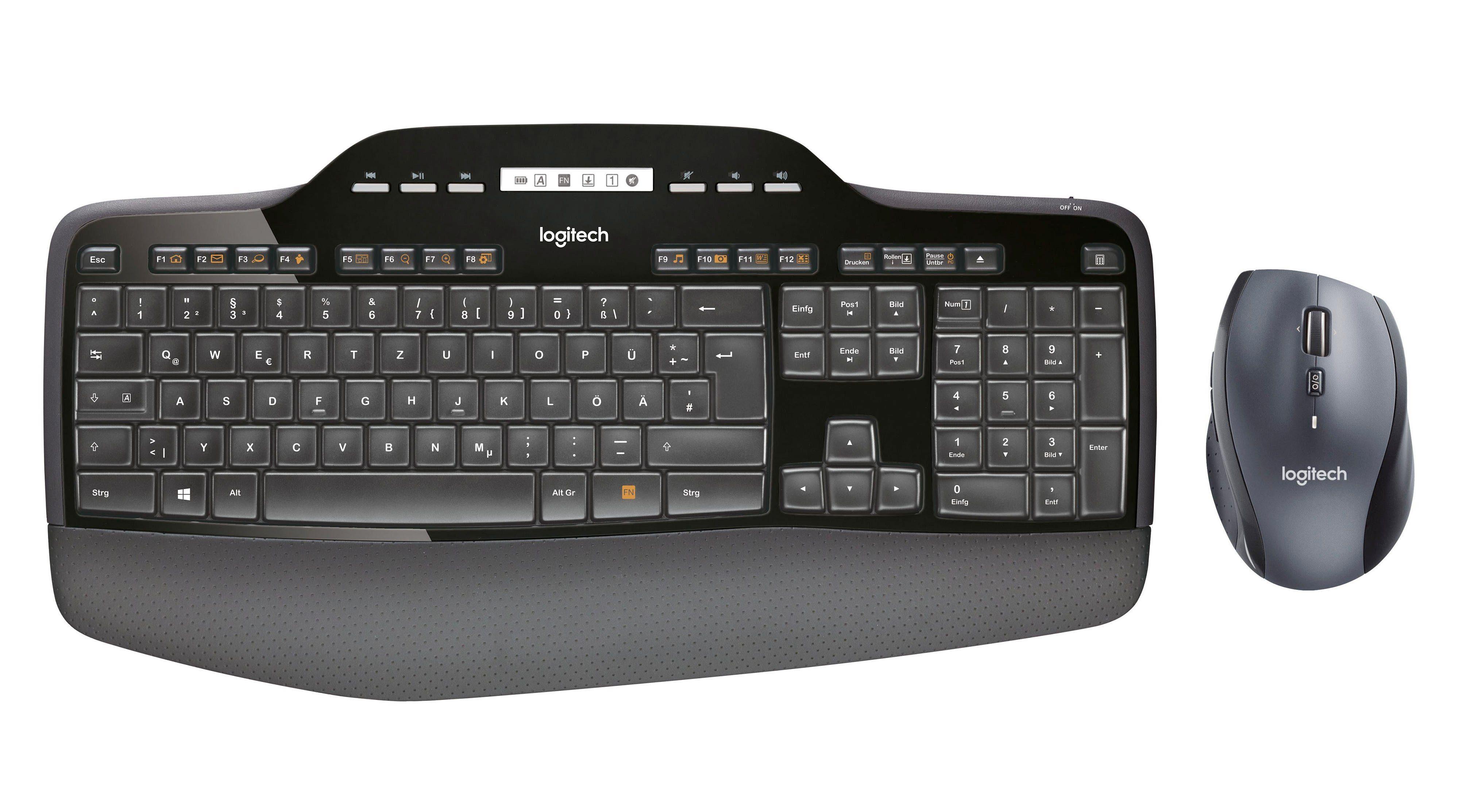Logitech Maus und Tastatur »Wireless Combo MK710«