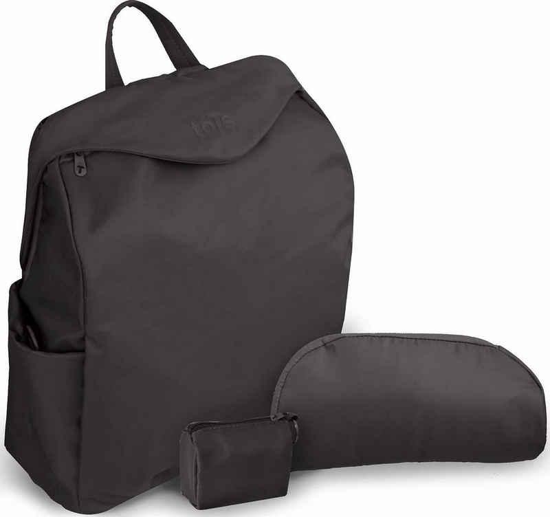 smarTrike® Wickeltasche »toTs by SmarTrike® Posh, schwarz«, inklusive Wickelunterlage
