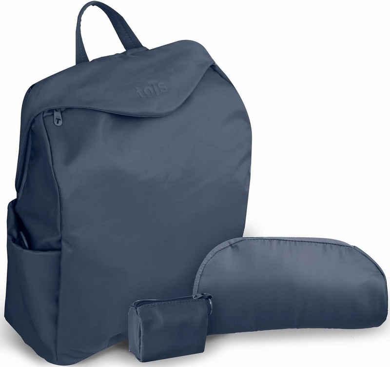 smarTrike® Wickeltasche »toTs by SmarTrike® Posh, blau« (Set), inklusive Wickelunterlage