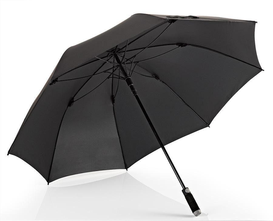 Euroschirm® Regenschirm für Zwei, »Stockschirm birdiepal® automatic, schwarz«