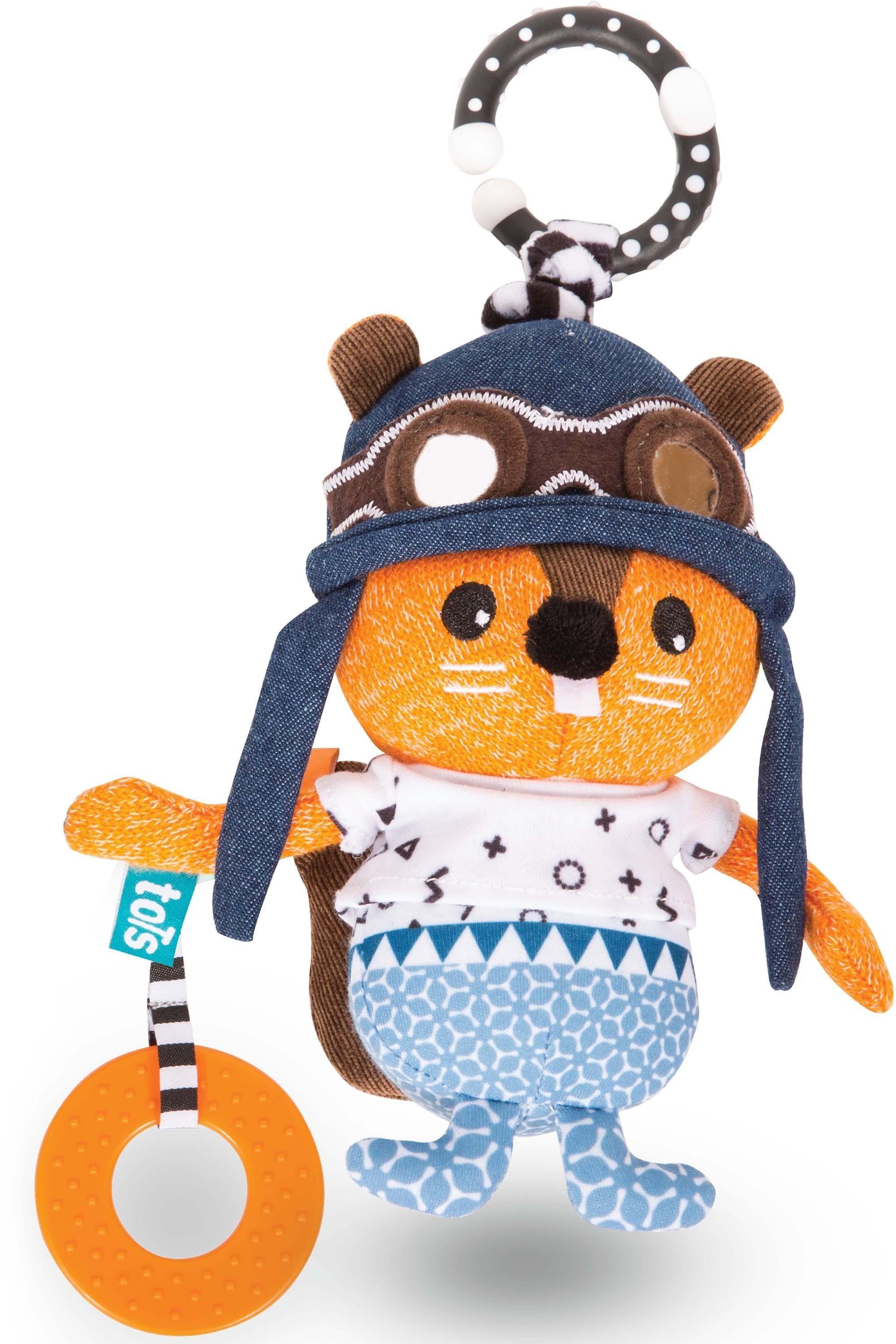 SmarTrike® Greifling, »toTs by SmarTrike® Clip-Biter-Doll Fur-ever Eichhörnchen«