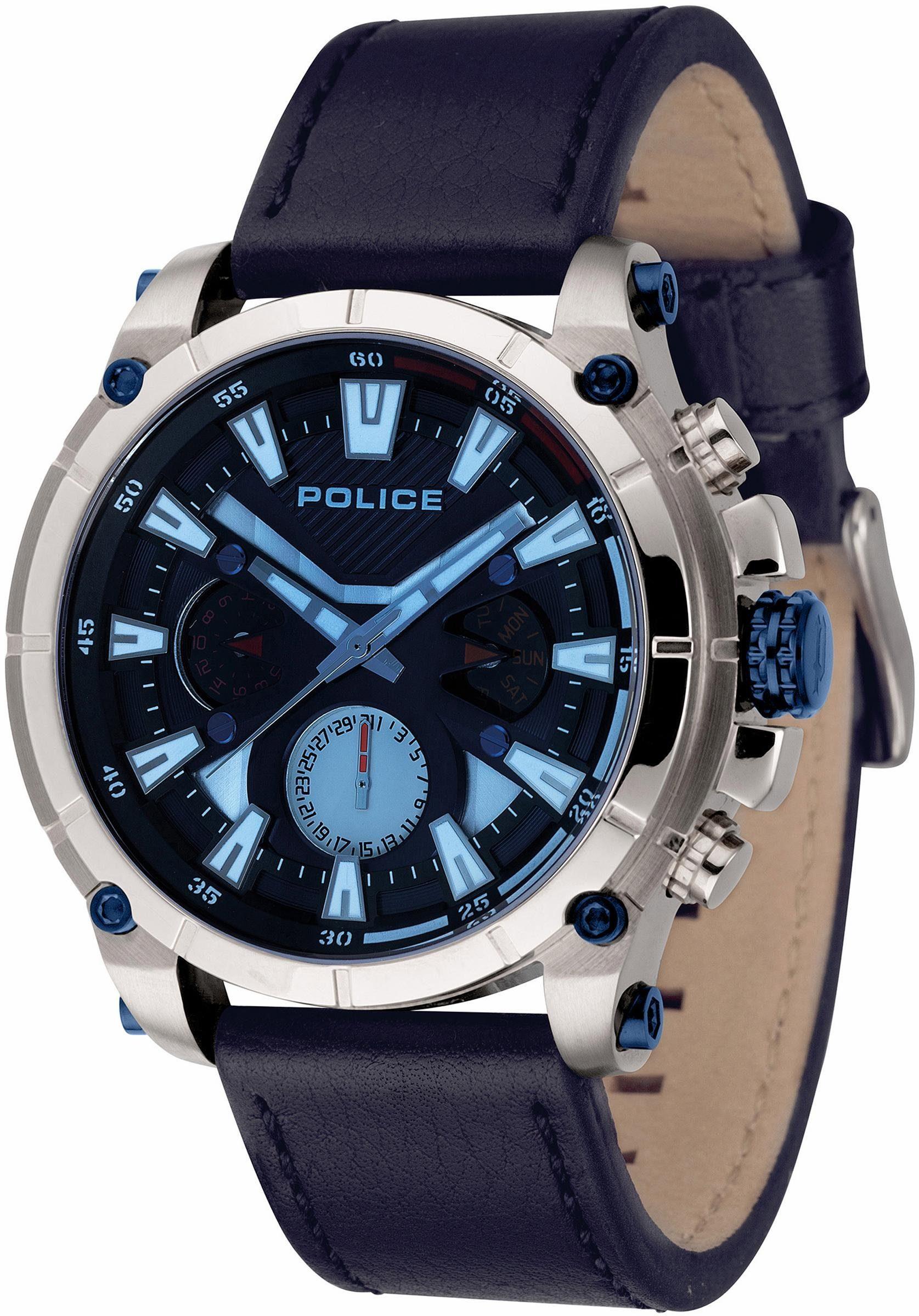 Police Multifunktionsuhr »OPERATOR, PL14832JS.03«
