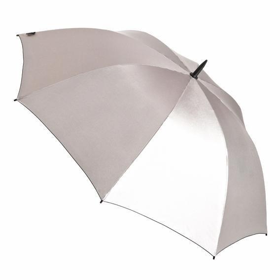 Euroschirm Stockregenschirm »birdiepal® automatic, silber«, Mit UV-Lichtschutzfaktor 50+ | Accessoires > Regenschirme > Stockschirme | Euroschirm