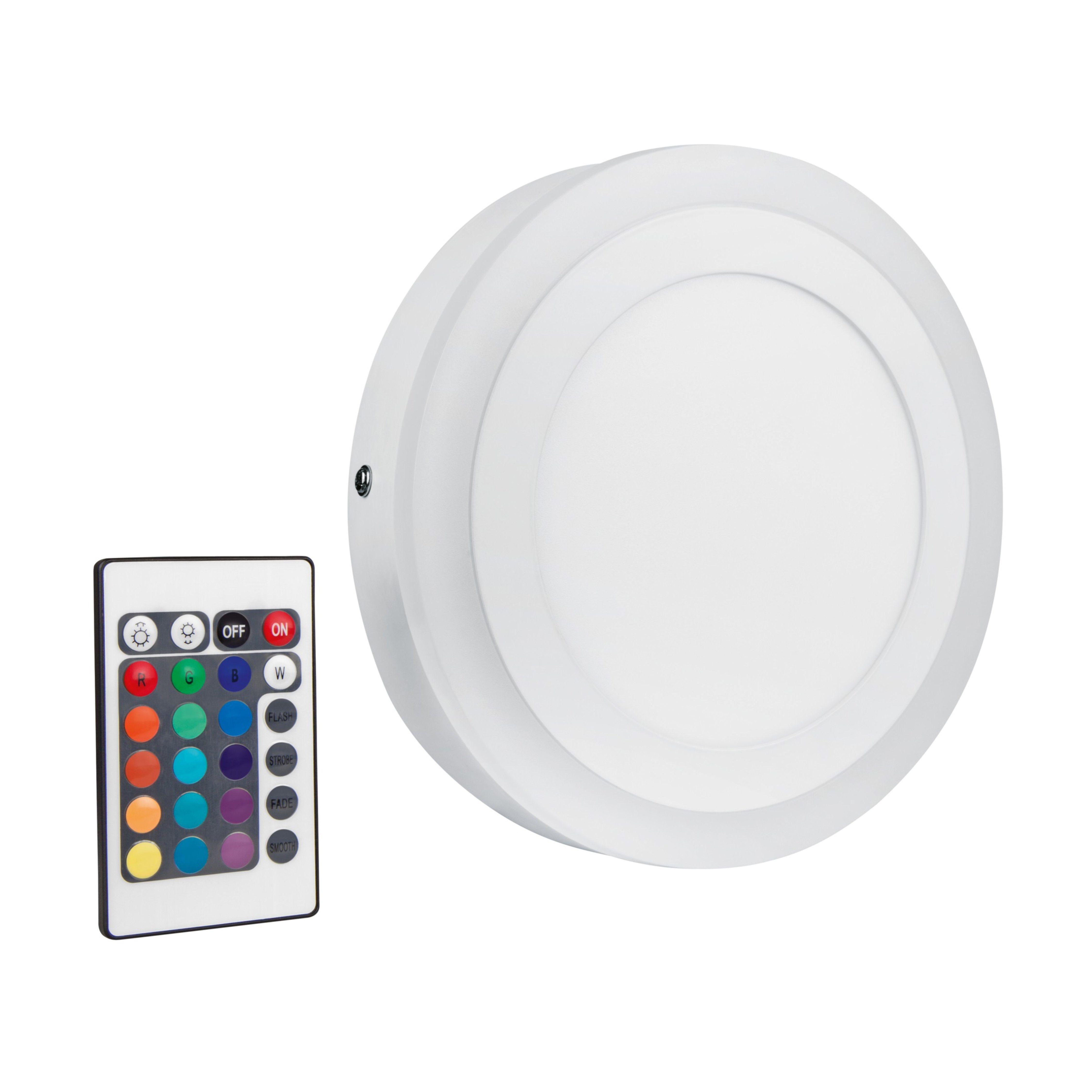 LED Wand- und Deckenleuchte mit Fernbedienung »LED COLOR+WHITE 19 W/830«