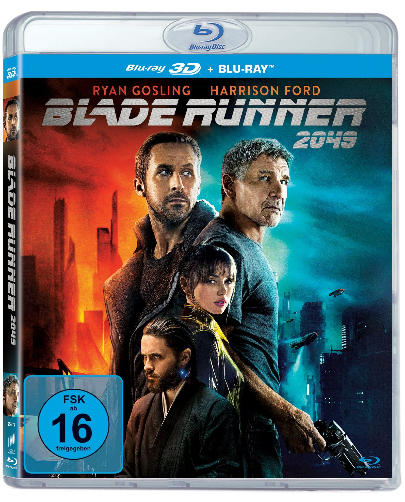 Sony Pictures Blu-Ray »Blade Runner 2049 (3D Version (2 Disc))«