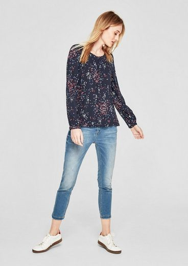 S.oliver Red Label Blouses Shirt With Carmen Cutout