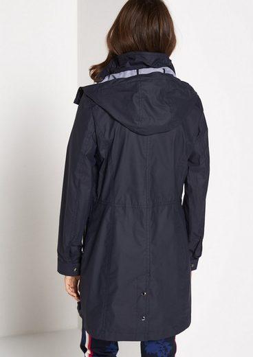 COMMA Mantel mit abzippbarer Kapuze