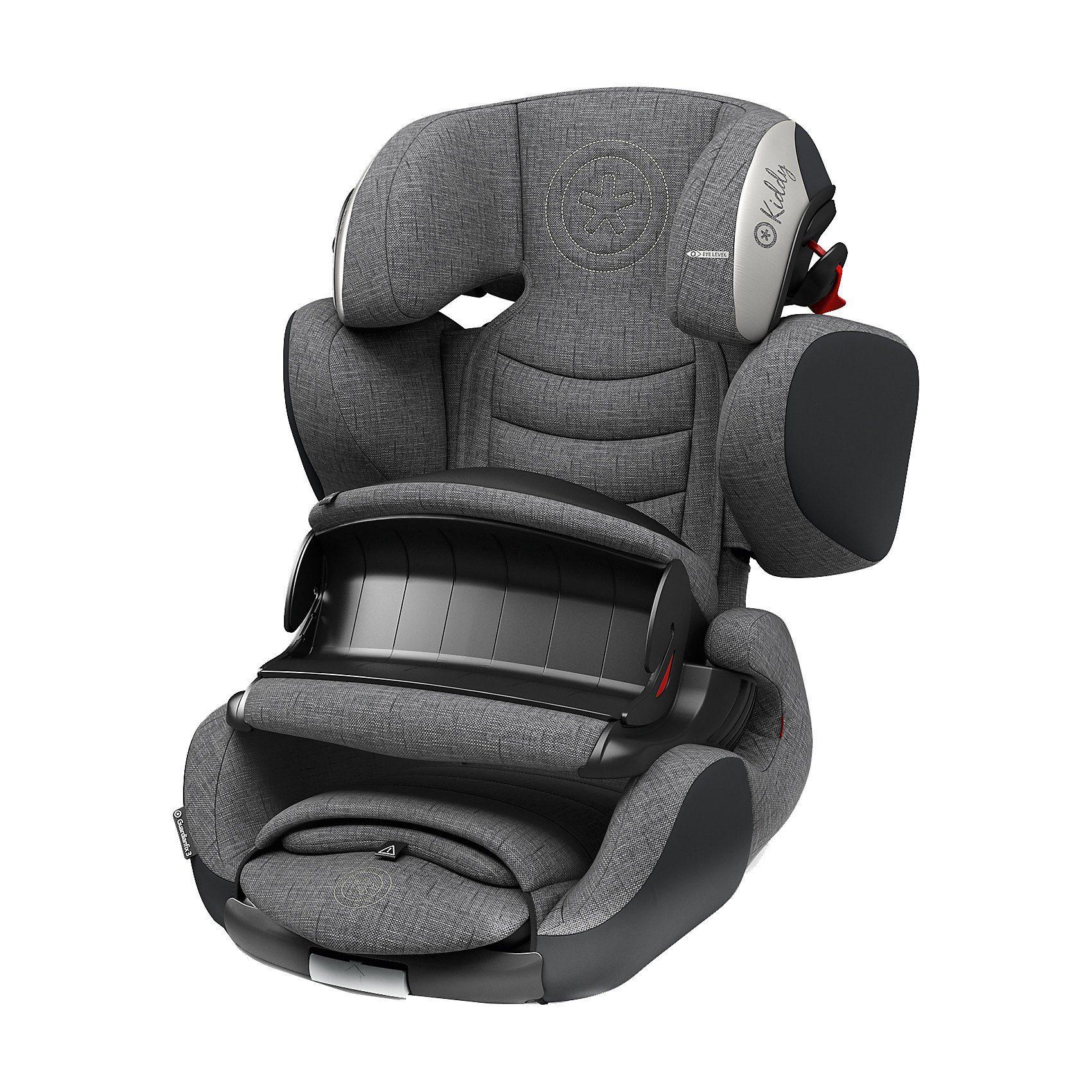kiddy Auto-Kindersitz Guardianfix 3, Grey Melange Icy Grey, 2018