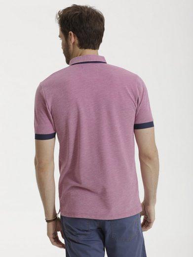 Babista Poloshirt in zweifarbiger Optik