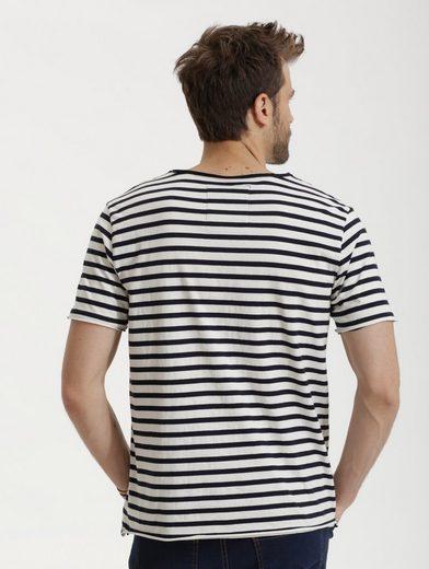 Babista T-Shirt mit offener Kantenverarbeitung
