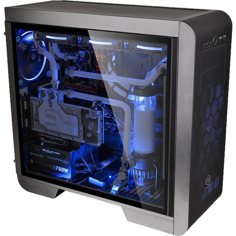 Thermaltake Tower Gehuse Core V51 Tempered Glass Edition Window P90 Kit