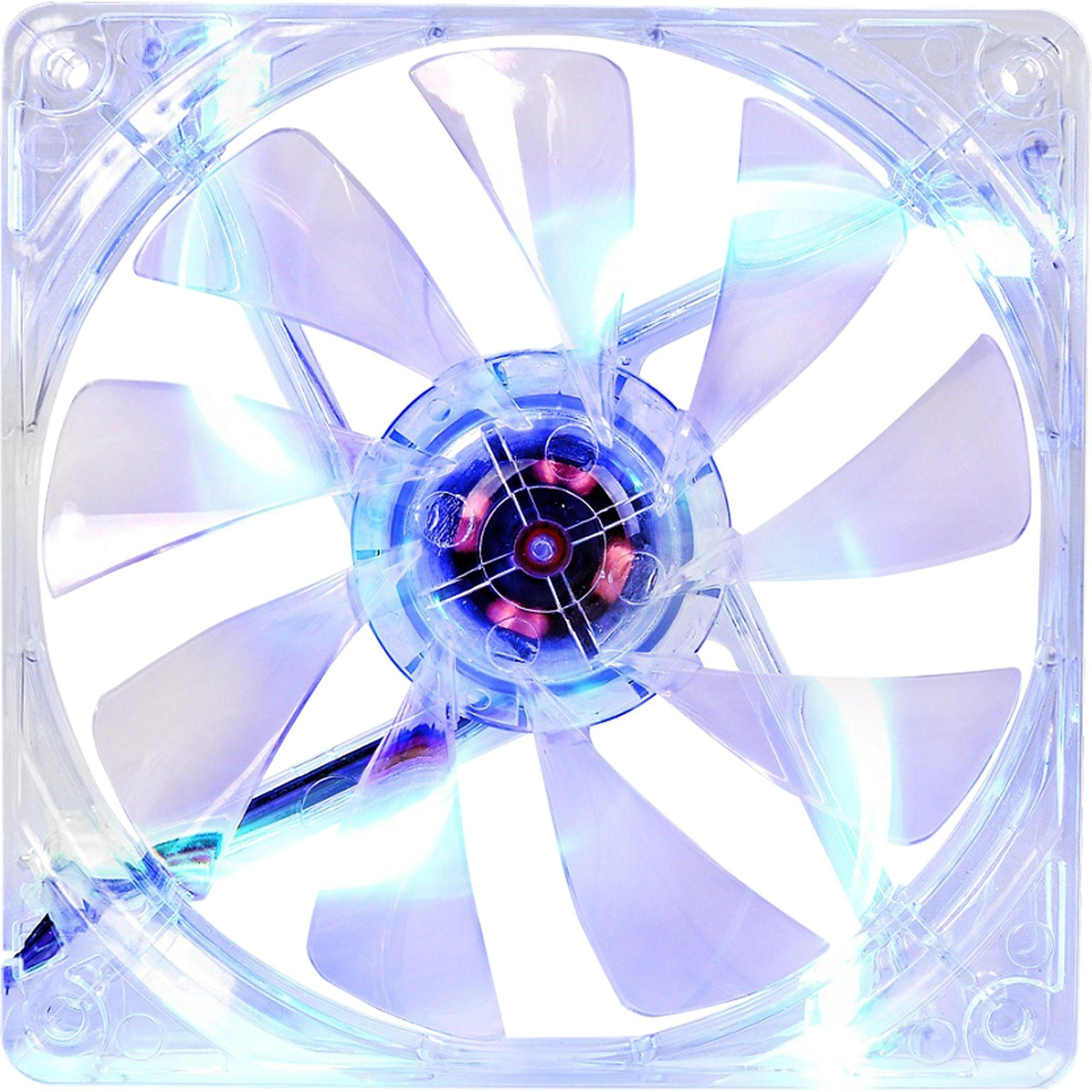 Thermaltake Gehäuselüfter »Pure 12 LED Blue 120x120x25«