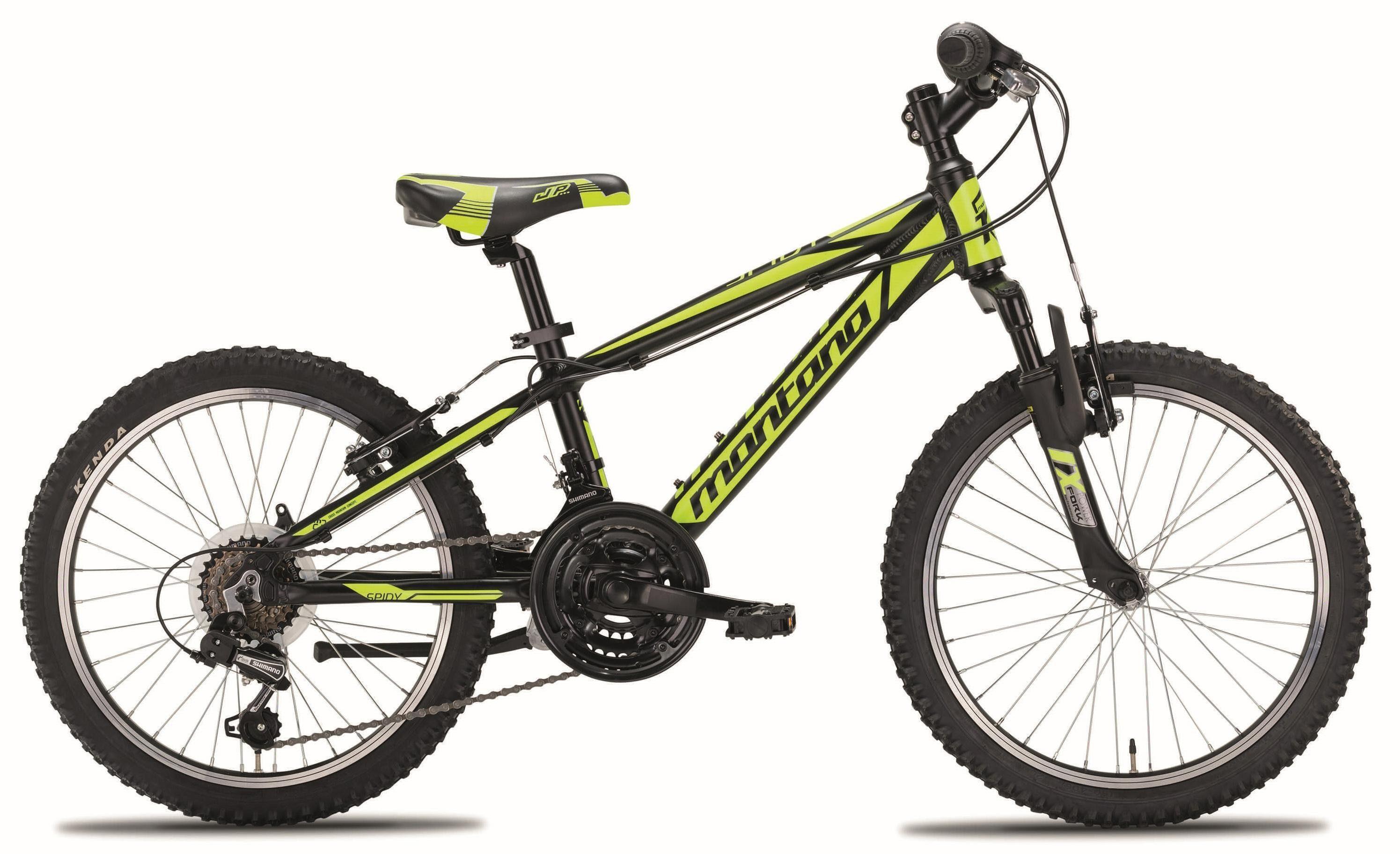 "Montana Fahrräder Mountainbike »20"" SPIDY«, 18 Gang Shimano TY-21 Schaltwerk, Kettenschaltung"