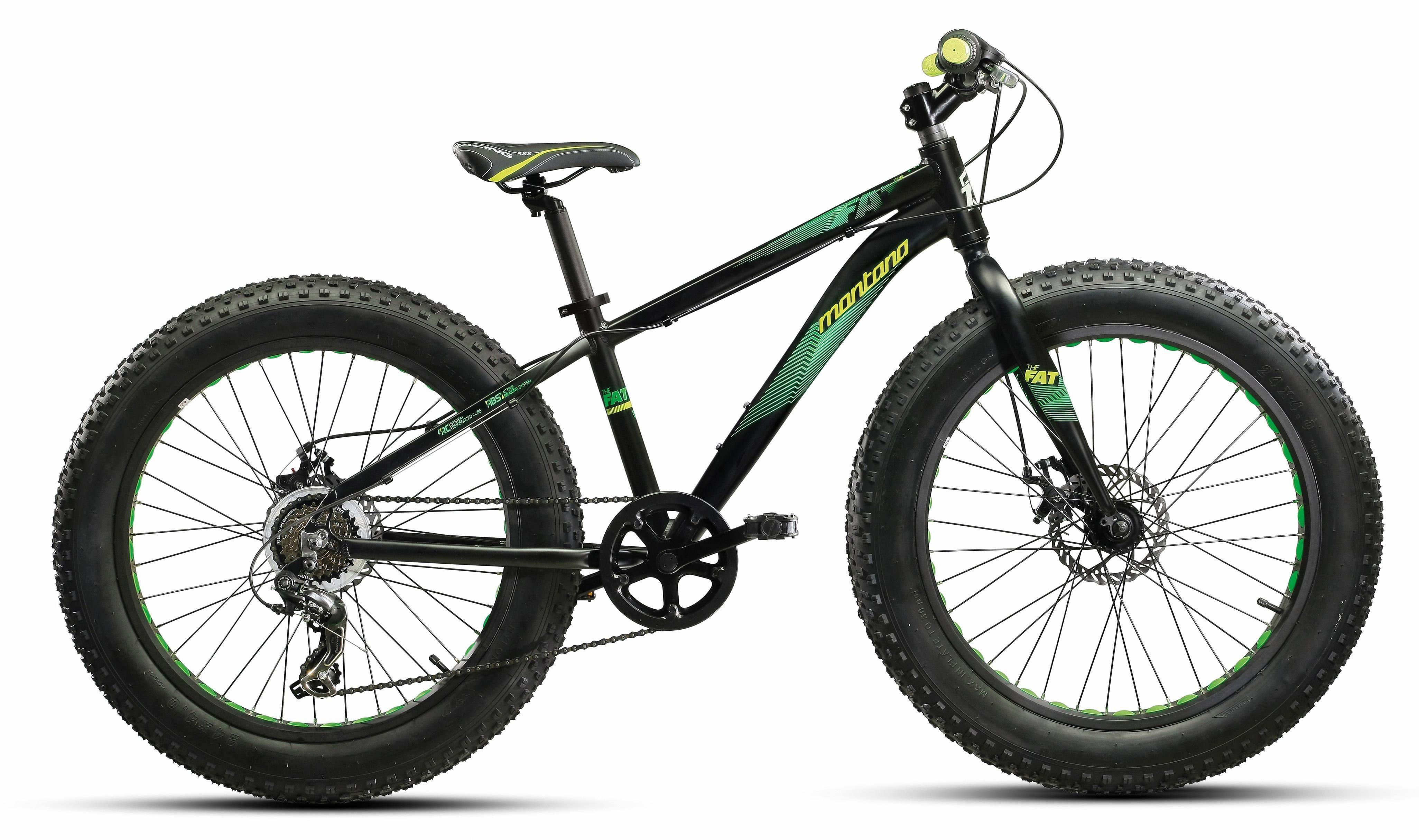 """Montana Fahrräder Fatbike »24"""" FAT«, 6 Gang Shimano TY-300 Schaltwerk, Kettenschaltung"""