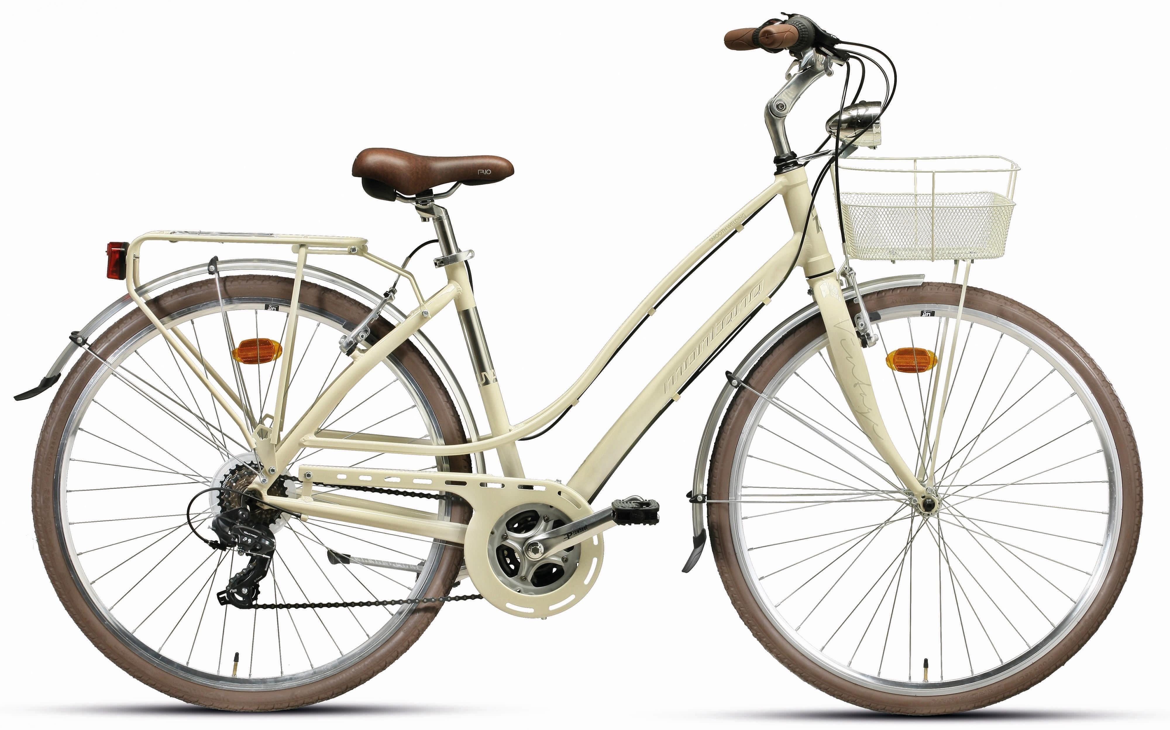 "Montana Fahrräder Trekkingrad »28"" LUNAPIENA 1928L«, 21 Gang Shimano TY-300 Schaltwerk, Kettenschaltung"