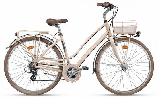 "Montana Fahrräder Trekkingrad »28"" LUNAPIENA 1930L«, 21 Gang Shimano TY-300 Schaltwerk, Kettenschaltung"
