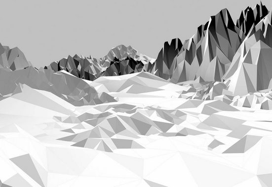 Fototapete »Icefields«