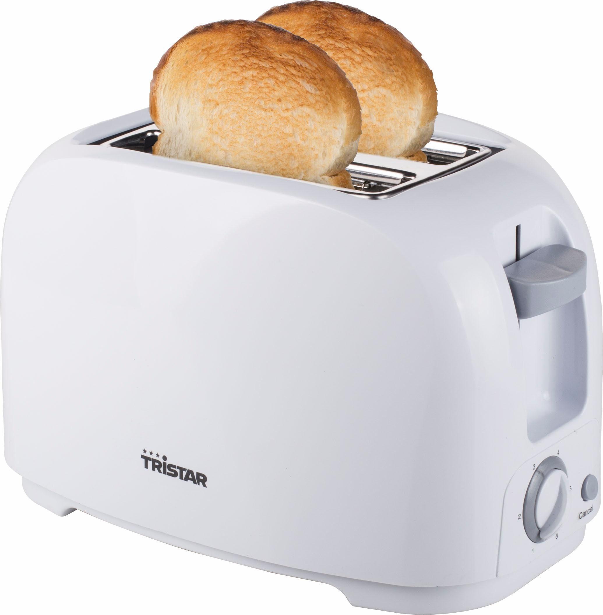 Tristar Toaster BR-1013, 2 kurze Schlitze, für 2 Scheiben, 800 W