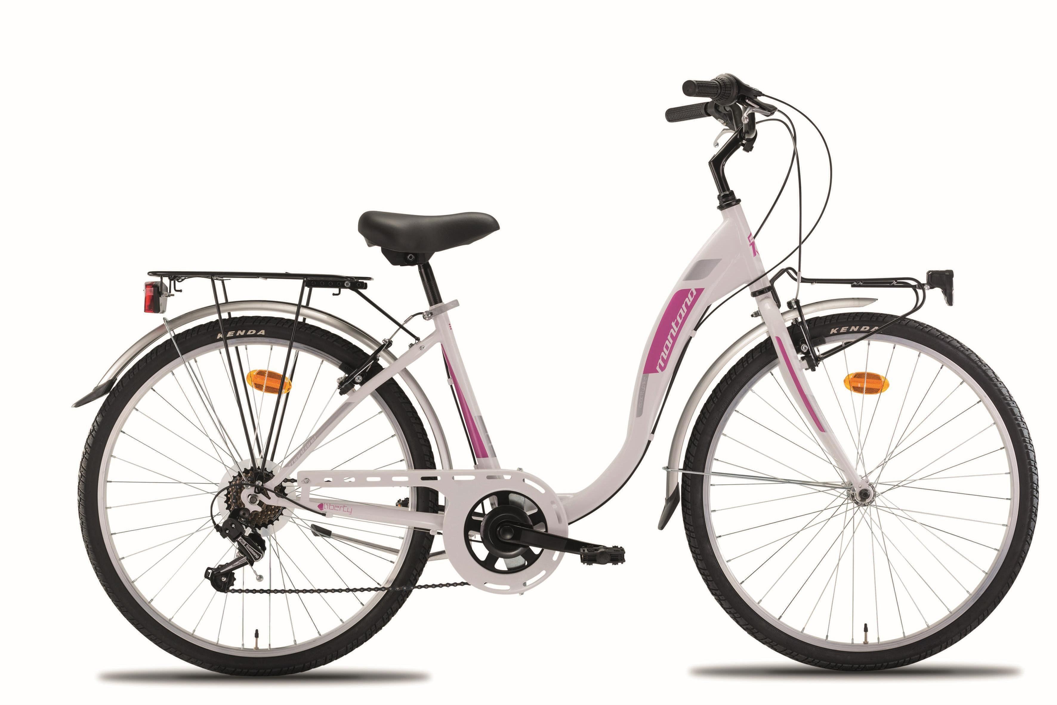 """Montana Fahrräder Cityrad »26"""" LIBERTY«, 7 Gang Shimano TY-21 Schaltwerk, Kettenschaltung"""