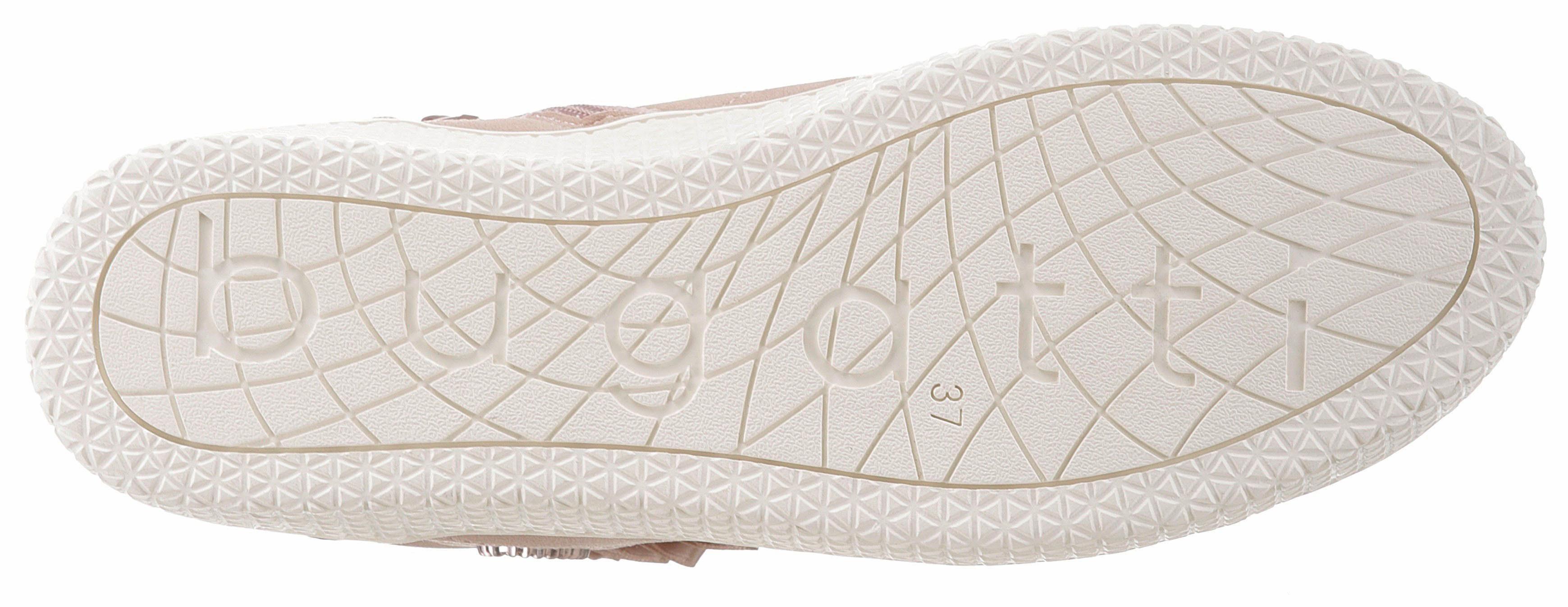 Bugatti Fergie Revo Sneaker, mit modischen Rüschen online kaufen  rosa